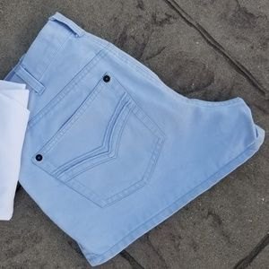 Abercrombie & Fitch Baby Blue Shorts